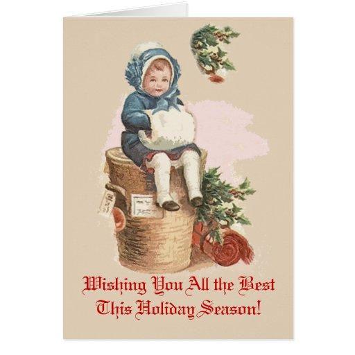 Tarjetas de Navidad del Victorian que usted puede