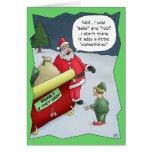 Tarjetas de Navidad divertidas: Difícilmente de la