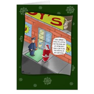 Tarjetas de Navidad divertidas: Fractura y el