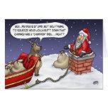 Tarjetas de Navidad divertidas: Idea alegre