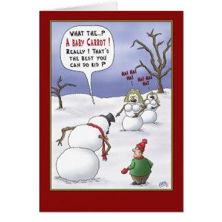 Tarjetas de Navidad divertidas: Materias del