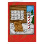 Tarjetas de Navidad divertidas: Mudanza de Polo No