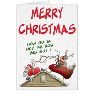 Tarjetas de Navidad divertidas: Revocación del pap