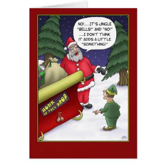 Tarjetas de Navidad divertidas: ¿Tintineo qué?