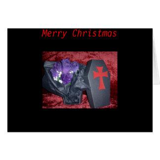 Tarjetas de Navidad góticas