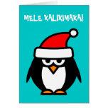 Tarjetas de Navidad hawaianas de Mele Kalikimaka