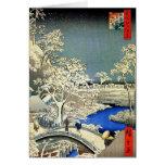Tarjetas de Navidad japonesas del vintage
