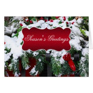 Tarjetas de Navidad para el negocio