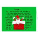 Tarjetas de Navidad peculiares y divertidas del fa