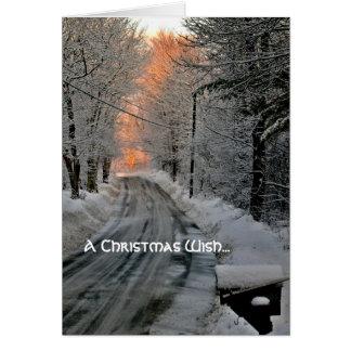 Tarjetas de Navidad renovadas de la esperanza