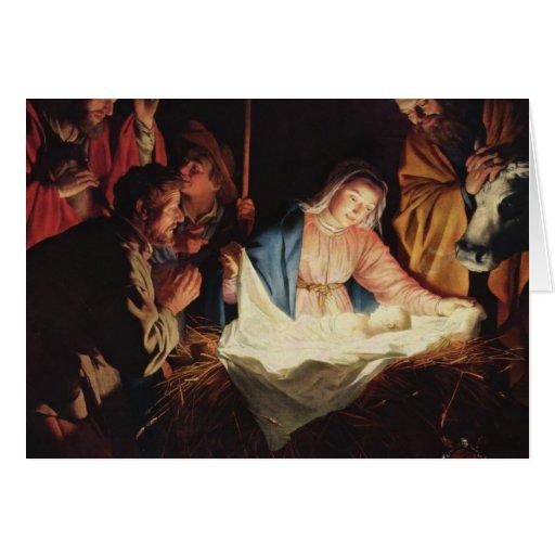 Tarjetas de Navidad tradicionales