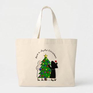 Tarjetas de Navidad y regalos católicos del arte d Bolsas De Mano