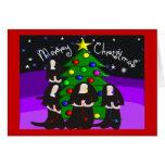 Tarjetas de Navidad y regalos de la monja