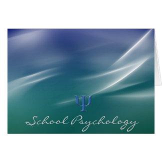 Tarjetas de nota brillantes de la psicología de la