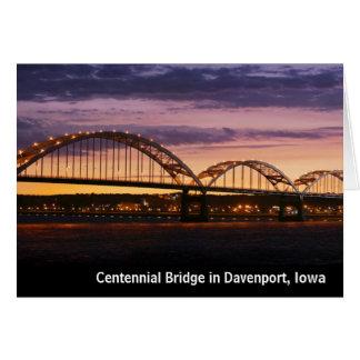 Tarjetas de nota centenarias del puente