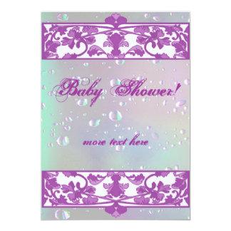 Tarjetas de nota de la plantilla de la fiesta de invitación 12,7 x 17,8 cm