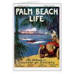 Tarjetas de nota de la vida #19 del Palm Beach