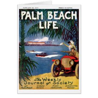 Tarjetas de nota de la vida 19 del Palm Beach