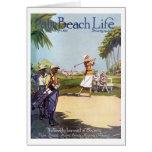 Tarjetas de nota de la vida #20 del Palm Beach