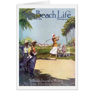 Tarjetas de nota de la vida 20 del Palm Beach