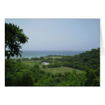 Tarjetas de nota de la vista al mar de Jamaica