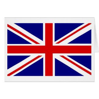 Tarjetas de nota de Union Jack