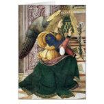 Tarjetas de nota del ángel del renacimiento Pintur