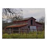 Tarjetas de nota del granero de Oklahoma