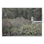 Tarjetas de nota del jardín del Victorian