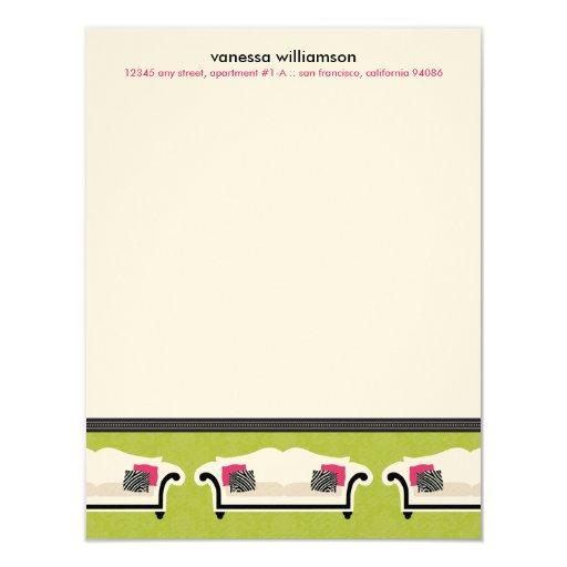 """Tarjetas de nota planas de encargo de la invitación 4.25"""" x 5.5"""""""
