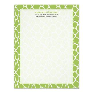 """Tarjetas de nota planas de encargo del modelo de invitación 4.25"""" x 5.5"""""""