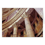 Tarjetas de nota romanas del panteón