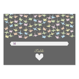 Tarjetas de papel colgantes del acompañamiento de  tarjetas de visita