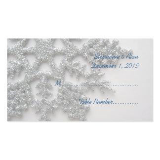 Tarjetas de plata del lugar del boda del copo de n plantillas de tarjetas personales
