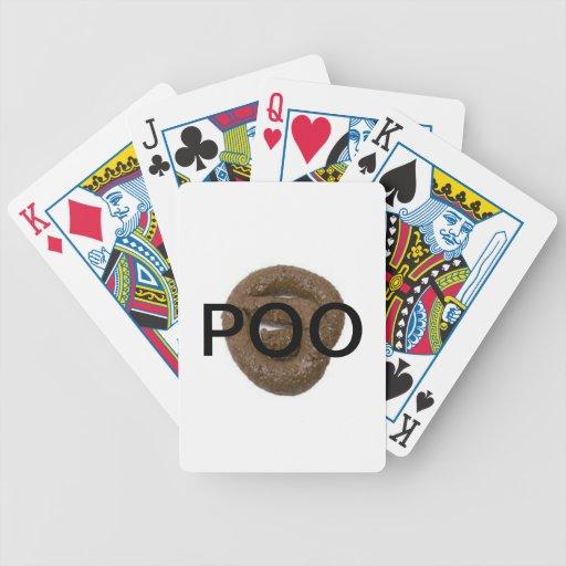 Tarjetas de Poo Cartas De Juego