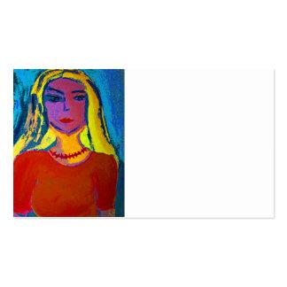 Tarjetas de presentación arte 5,1 cm x 8,9 cm, 100 plantilla de tarjeta de negocio