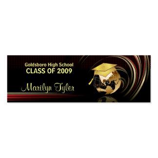 Tarjetas de presentación de la graduación - clase tarjetas de visita mini