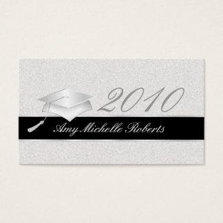 Tarjetas de presentación de la graduación de tarjetas de visita
