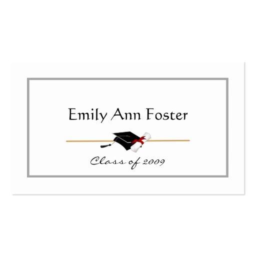 Tarjetas de presentación personalizadas de la tarjetas de visita