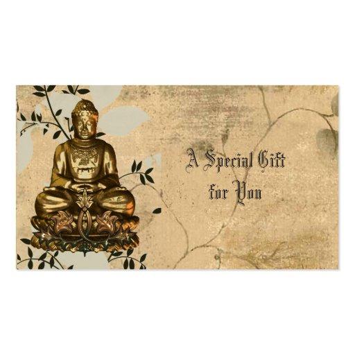 Tarjetas de regalo de Budda Tarjetas De Visita