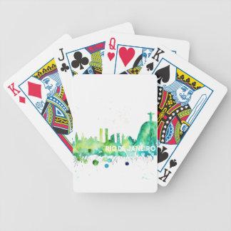 Tarjetas de Río de Janeiro Baraja Cartas De Poker