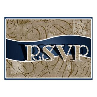 Tarjetas de RSVP Tarjetas De Visita Grandes
