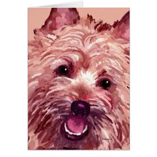 """Tarjetas de Terrier de mojón """"Chubba"""""""