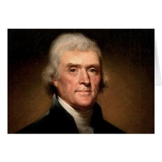 Tarjetas de Thomas Jefferson
