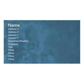 Tarjetas de visita abstractas brumosas azules 0001