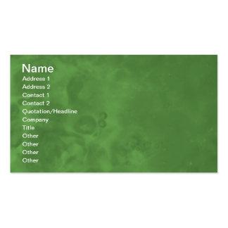 Tarjetas de visita abstractas brumosas verdes 0001