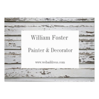 Tarjetas de visita adaptables del pintor y del