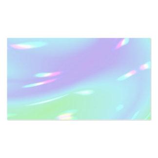 Tarjetas de visita brillantes coloridas de la