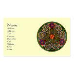 Tarjetas de visita célticas adaptables del arte