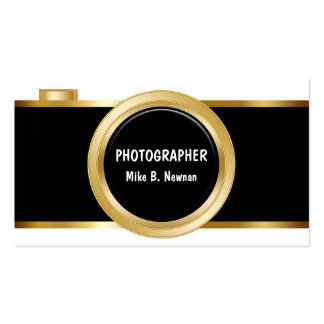Tarjetas de visita con clase del fotógrafo